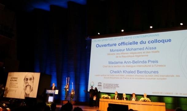 COLLOQUE SUR L'ISLAM ORGANISE A L'UNESCO