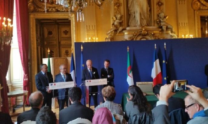 COOPERATION ALGERIE FRANCE TENUE A PARIS DE LA 3e SESSION DU COMEFA