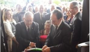 INAUGURATION PAR M. LAMAMRA DU NOUVEAU SIEGE DU CONSULAT D'ALGERIE A CRETEIL