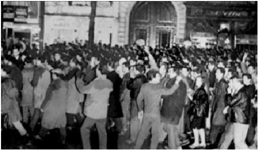 17 OCTOBRE 1961 UNE COMMEMORATION SUR LE PONT SAINT-MICHEL CONTRE L'OUBLI DES MASSACRES